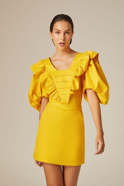 Vestido-Curto-Vintage-Amarelo