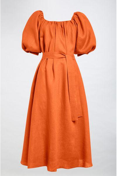 Vestido-Midi-Maria-Tangerina