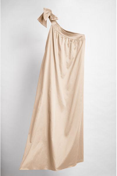 Vestido-Longo-Isabela-cor-Camelo
