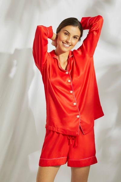 Conjunto-Pijama-Short-Vermelho