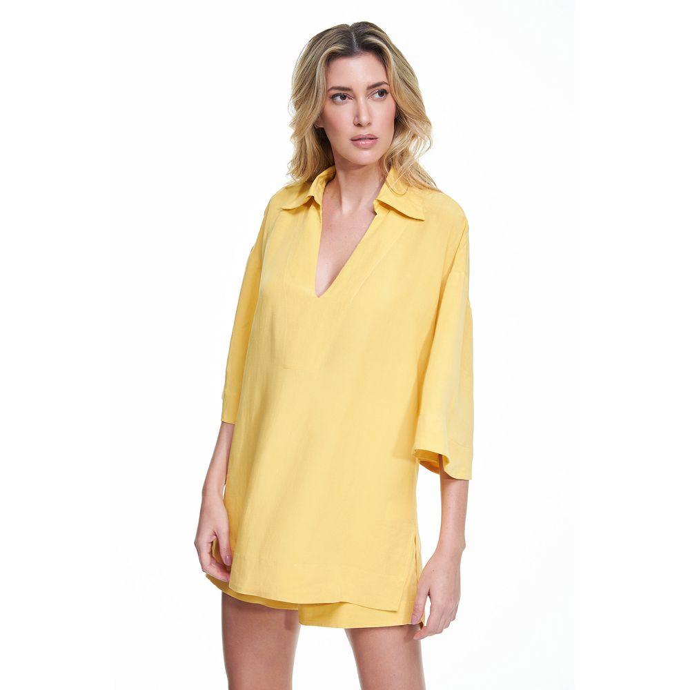 Tunica-Linho-Amarela