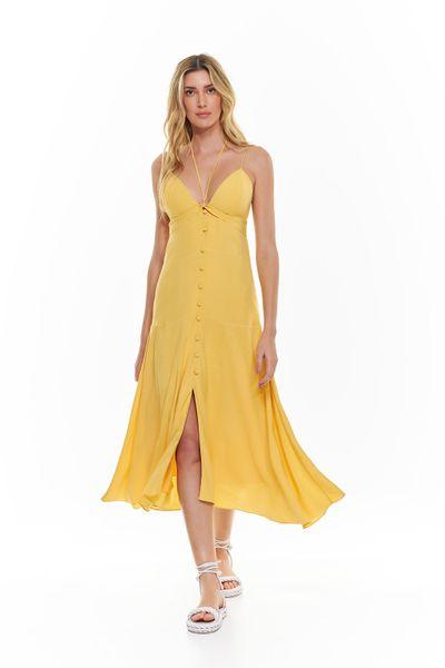 Vestido-Longuete-Linho-Amarelo