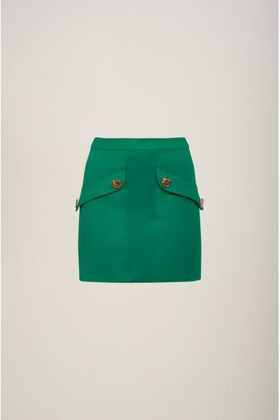 Saia-Curta-Botoes-Verde