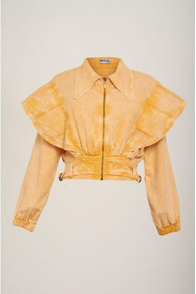Jaqueta-Cropped-Color-Amarela