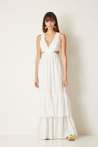 Vestido-Longo-Laise-Branco-