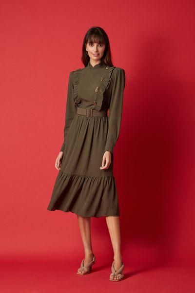 Vestido-Midi-Agata-Verde