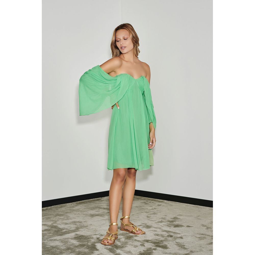 Vestido-Mini-Crepe-Verde