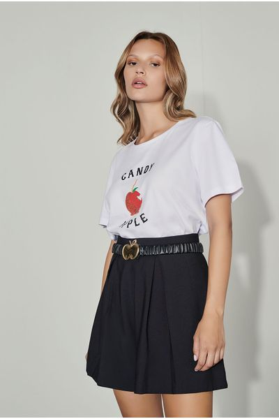 T-shirt-Estampa-Maca-Branca