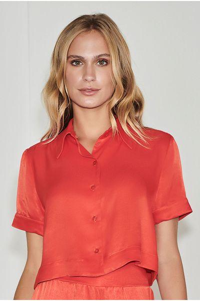 Camisa-Crepe-Gola-Vermelha