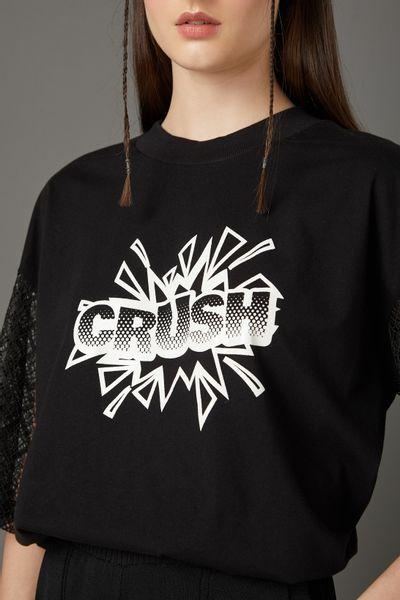T-Shirt-Manga-Renda-Crush