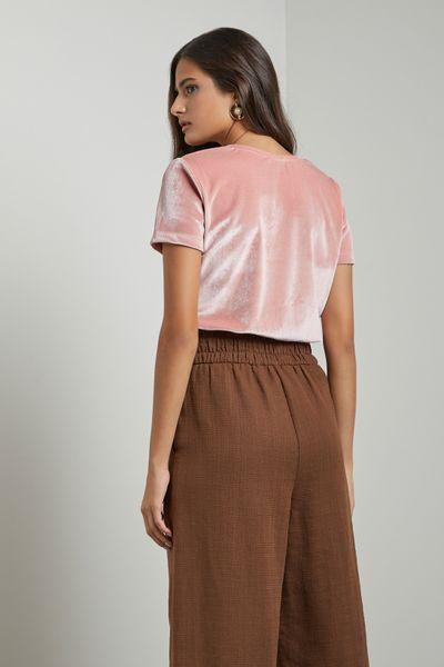 T-shirt-Veludo-Rosa-Claro