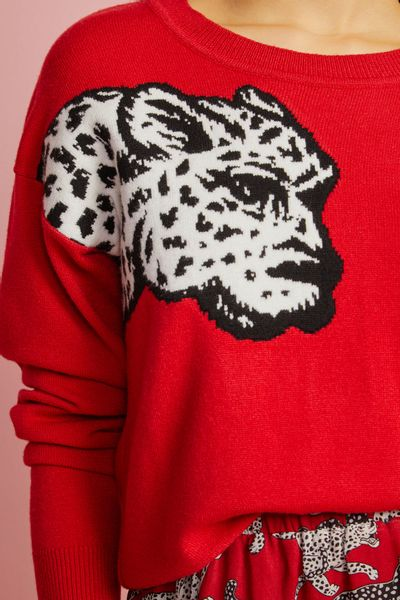 Blusa-Pull-Leopardo