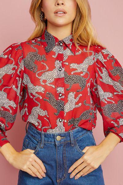 Camisa-Leopardo
