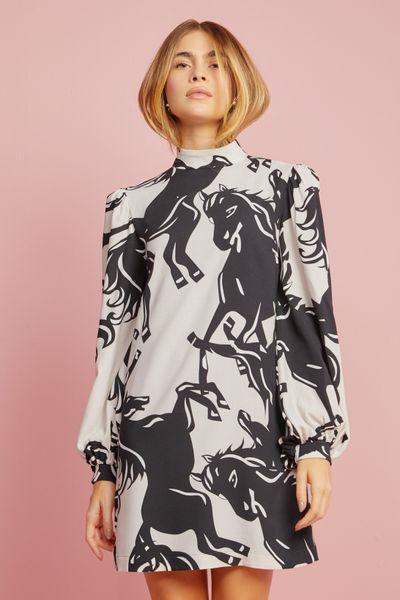 Vestido-Curto-Horses