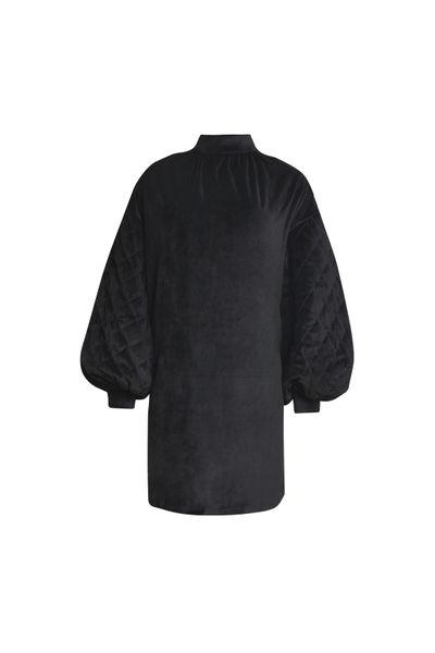 Vestido-Matelasse-Preto