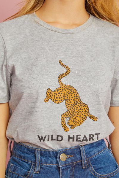 T-shirt-Leopardo-Mescla