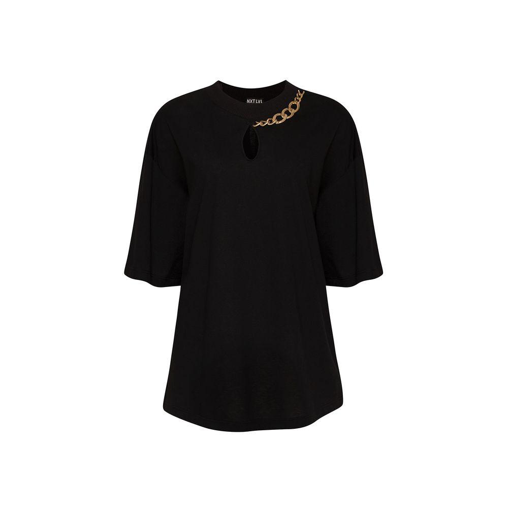 T-shirt-Corrente-Preta