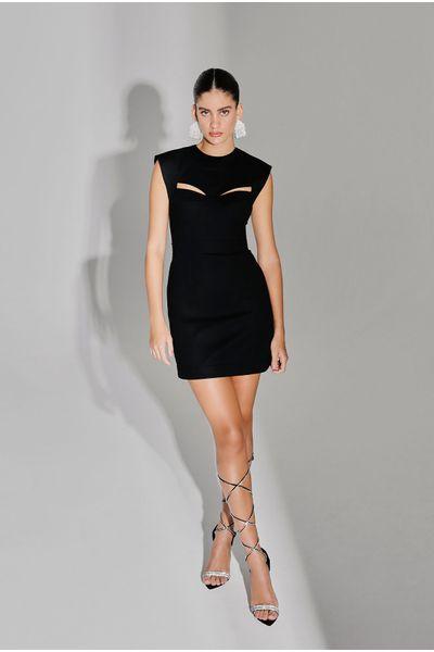 Vestido-Vazados-Preto