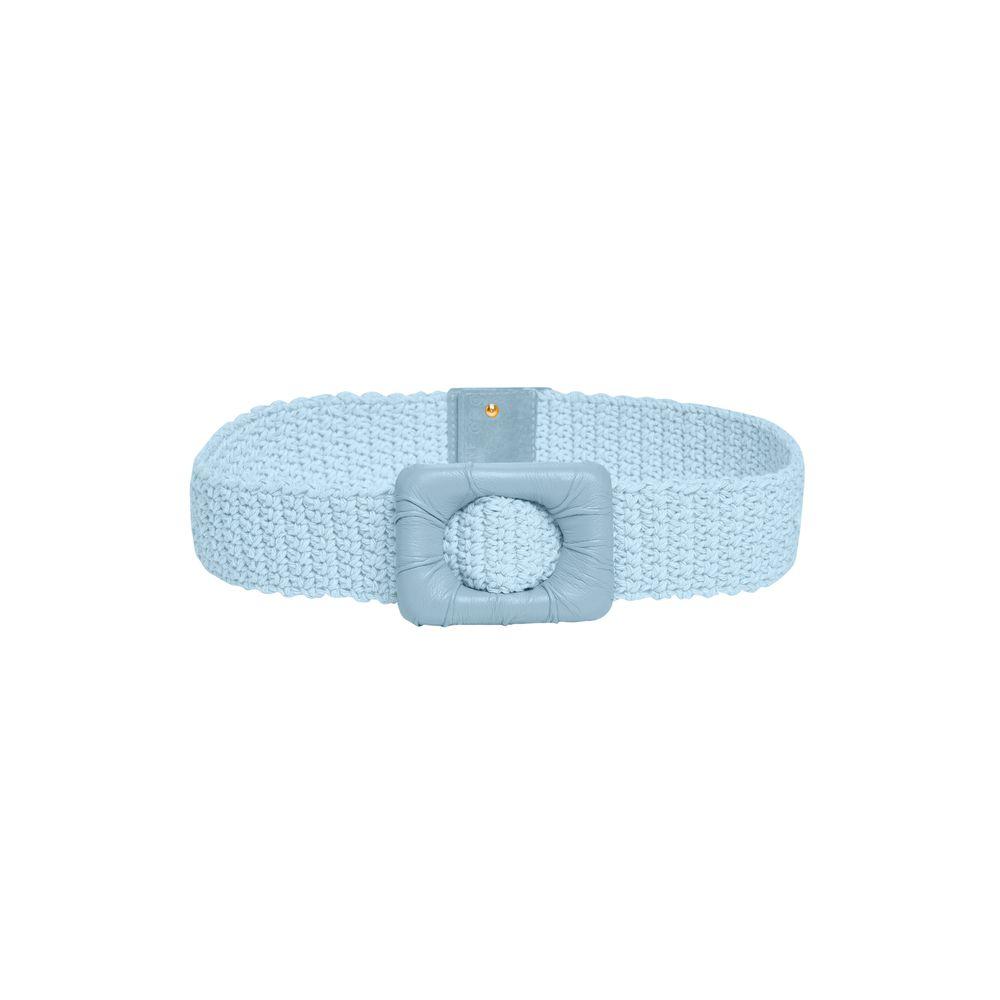 Cinto Crochet Azul Sereno 80