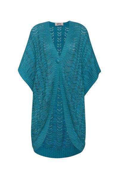 Kimono-Crochet-Azul