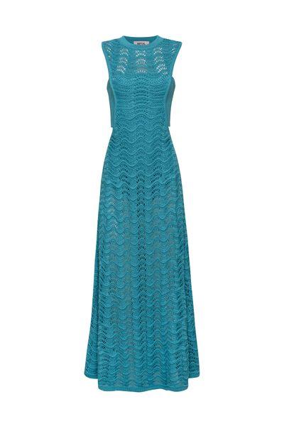 Vestido-Crochet-Azul