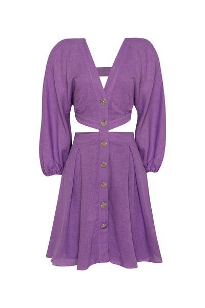 Vestido-Recortes-Roxo