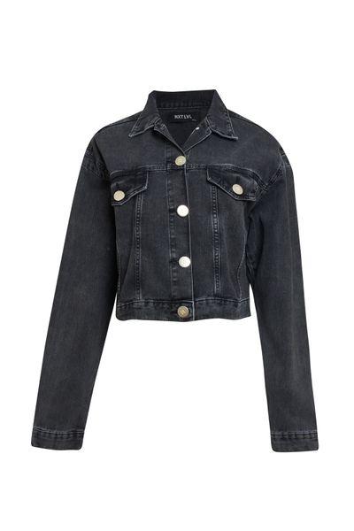 Jaqueta-Cropped-Jeans-Black
