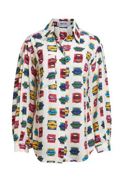 Camisa-Boca-Cetim