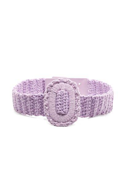 Cinto-Fivela-Crochet-Lilas