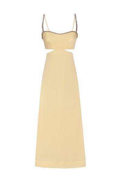 Vestido-Strapless-Manteiga