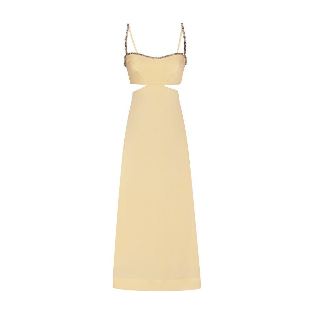 Vestido Strapless Manteiga 36