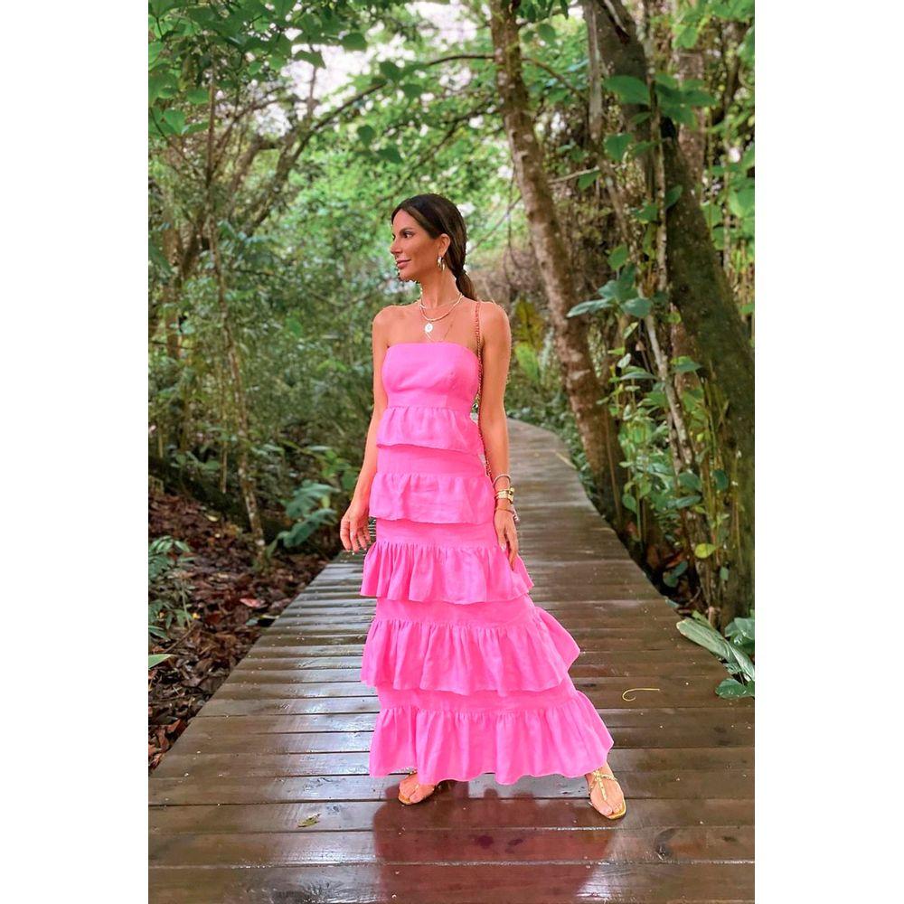 Vestido Fe Pink 34